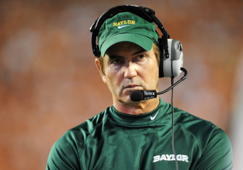 NCAA FOOTBALL: OCT 30 Baylor at Texas